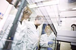 Bilde fra lab på Det medisinske fakultet, NTNU