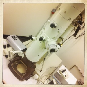 Elektronmikroskop hipstamatic