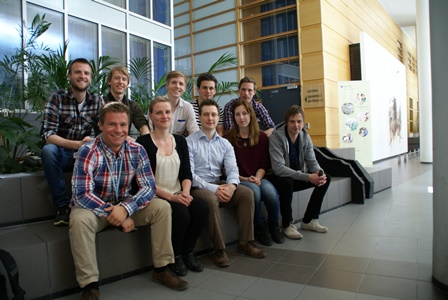 Forskerlinjestudentene kull 11. Foto: Hanne Strypet
