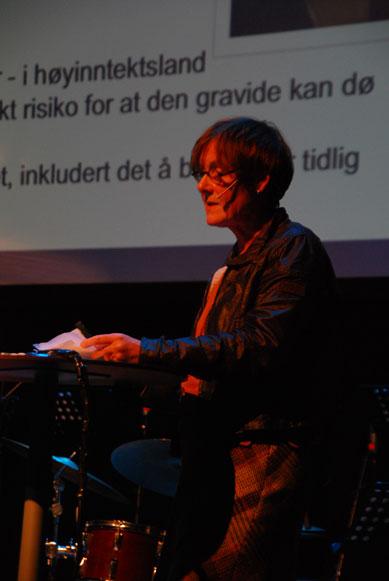 Marit Martinussen (Foto: Maria C. Stuifbergen)