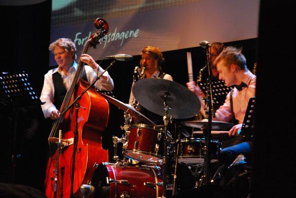 NTNU Jazz Ensemble. (Foto: Maria C. Stuifbergen)