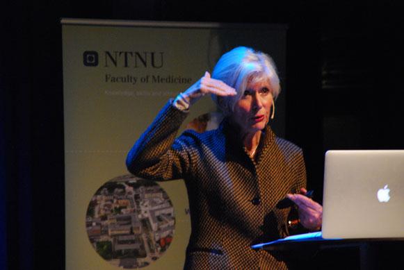 Turid Suzanne Berg-Nielsen. (Foto: Maria C. Stuifbergen)