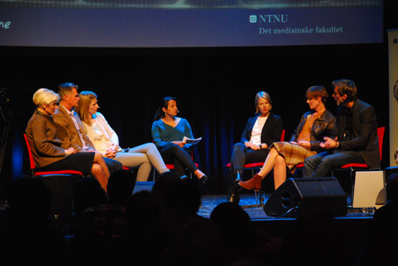 Paneldebatten. (Foto: Maria C. Stuifbergen)