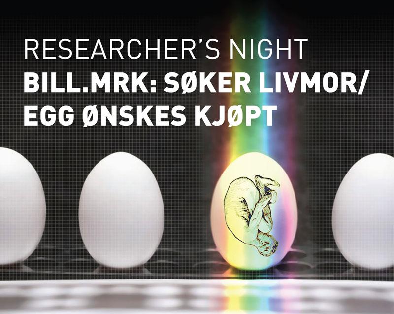 Bill. mrk: Søker livmor/egg ønskes kjøpt