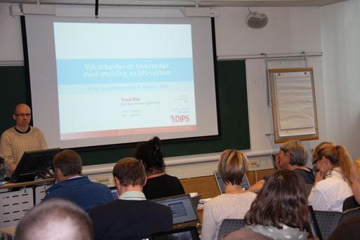 Helseinformatikk ved NTNU,. (Foto: Hanne Strypet)