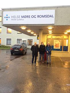 Informasjon om kjernefasiliteter til Molde sjukehus