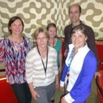 Anne Hokstad and me with PhD student Karen Borchman, Post Doc Toby Cumming and Head of Division Julie Bernhardt