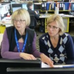 Jan Chamberlain and Anne are cleaning data