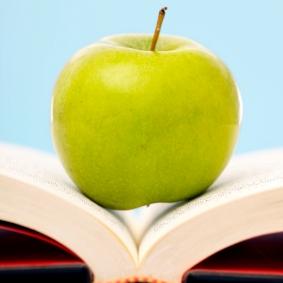 bok og eple_istock