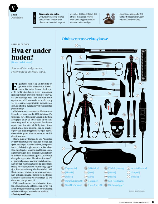 Faksimile A-magasinet 29. november 2013