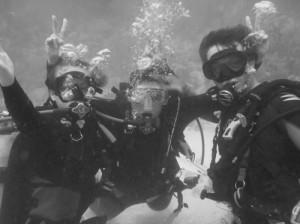 Deler av dykkergruppa, NTNU.