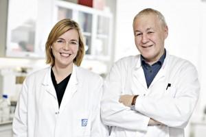 Therese Standal og Anders Sundan. Foto: Geir Mogen
