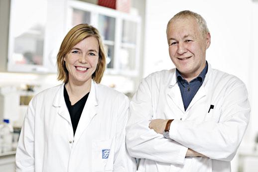 Therese Standan og Anders Sundan. Foto: Geir Mogen