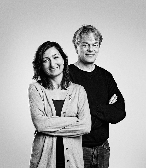 Profesors May-Britt and Edvard Moser