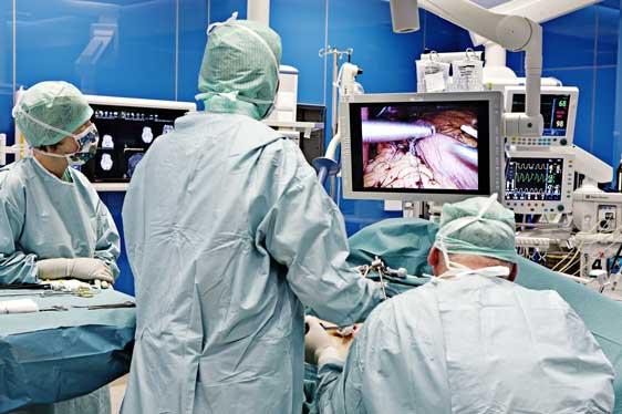 Fremitidens operasjonsrom