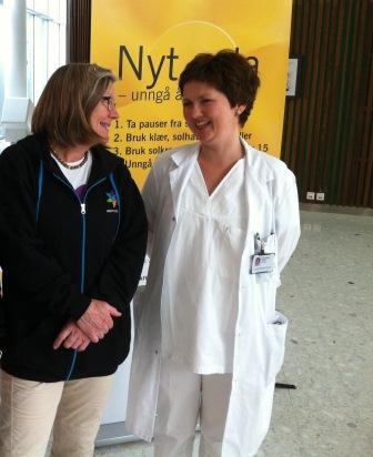 Marit Svisdahl og Ellen Marie Bjørge