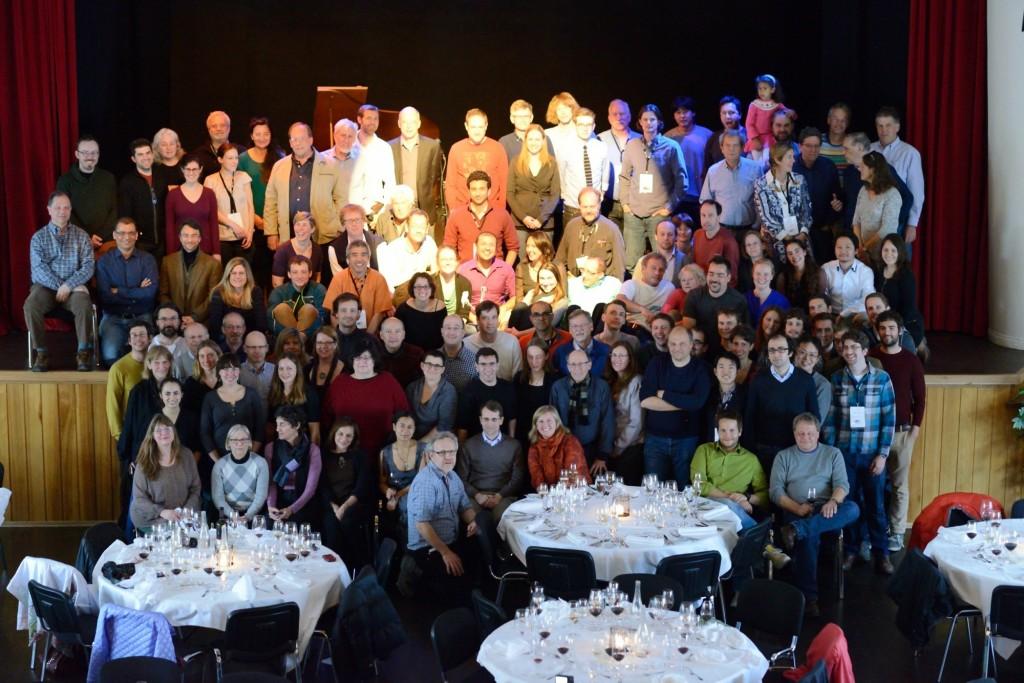 Spitsbergen 2014, happy participants. Photo: Winfried Denk