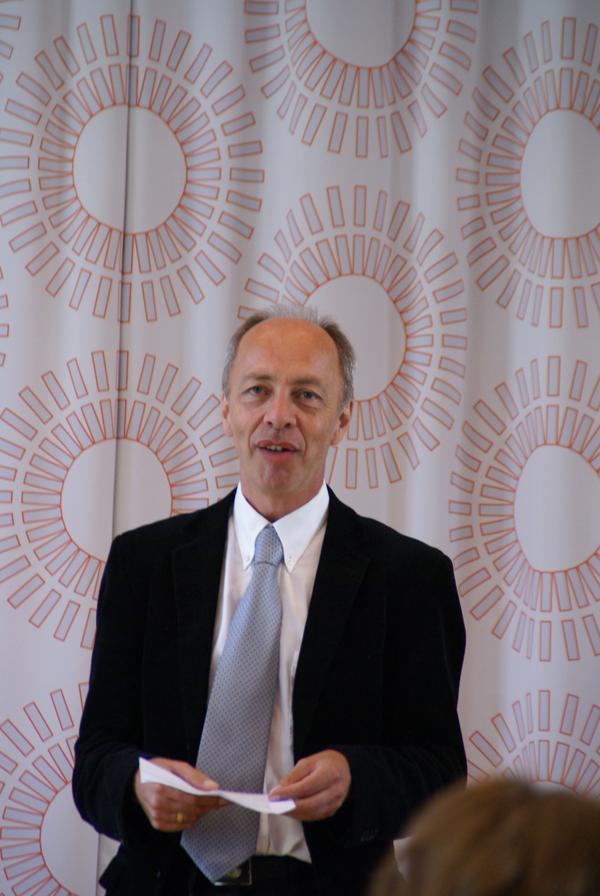 Halvor Eifring, professor i kinesisk ved Universitetet i Oslo, og leder av Acem Norge.
