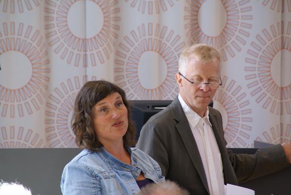 Hanne Charlotte Helgesen og Bjørn Sortland fra Eksperter i Team.