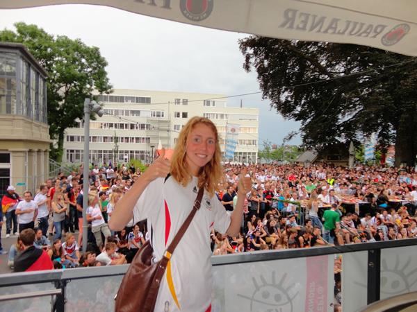 Å heie Tyskland frem til VM-gull hørte også med!