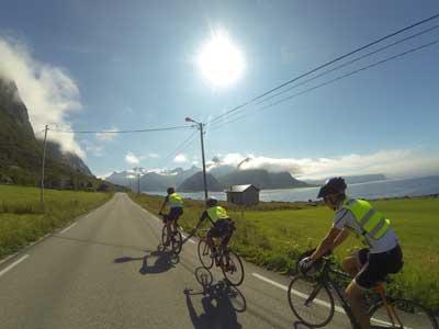 MedHum på sykkeltur