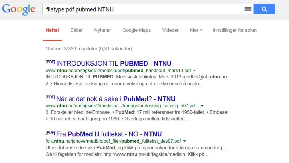 google-pubmed