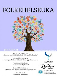 Folkehelseuka, program for 2014
