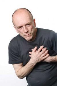 mann med hjertesvikt