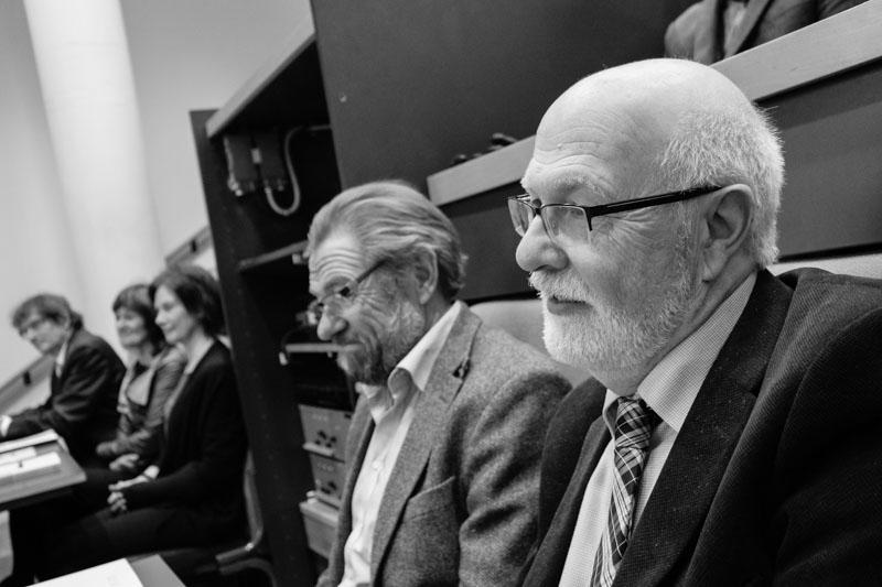 Fr.v.: Forsker Tord Ivarsson (biveileder) fra RBUP Øst og Sør og førsteamanuensis Thomas Jozefiak (veileder) fra RKBU Midt-Norge. Foto: Frode Jørum