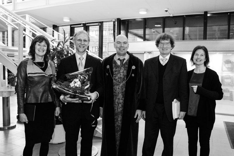 Fra.v.: Else De Haan, Bernhard Weidle, Norbert Skokauskas, Andreas Warnke og May Britt Drugli.