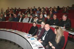 bidle av auditoriet ved HUNT forskningssenter - inne