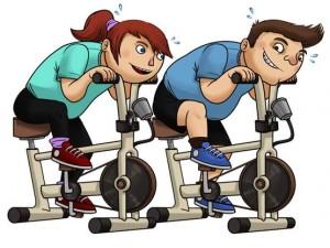 jente og gutt sykler