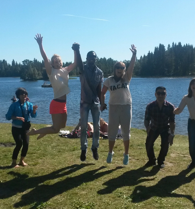 Happy Students in Master Program Global Health