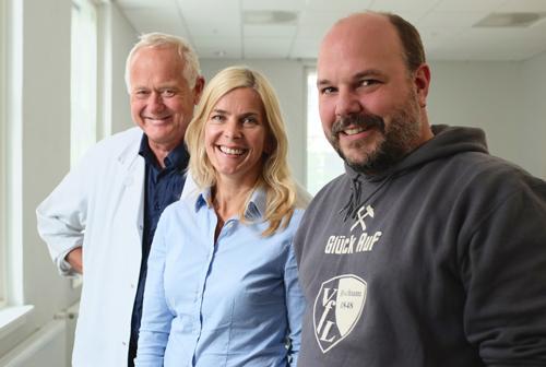 Denne flotte trioen vil dele sin kunnskap med deg fredag kveld. Fra venstre: Bård Kulseng, Trude Helen Flo og Christian Klöckner.