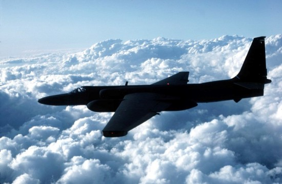 U-2 aeroplane. Photo: Dr Stephen McGuire USAF.