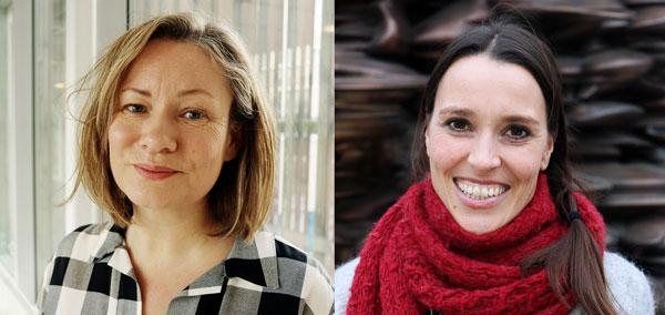 Ingrid Eftedal og Dorthe Stensvold