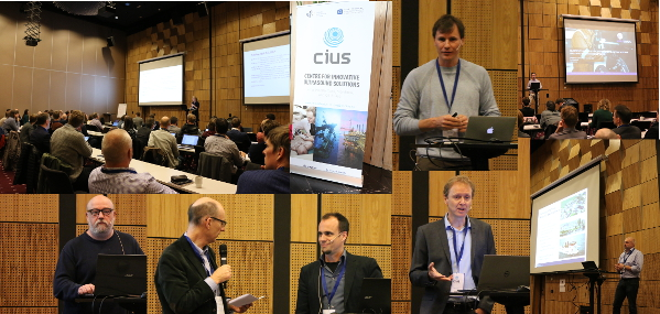 Collage of speakers at CIUS Spring Conference 2017.
