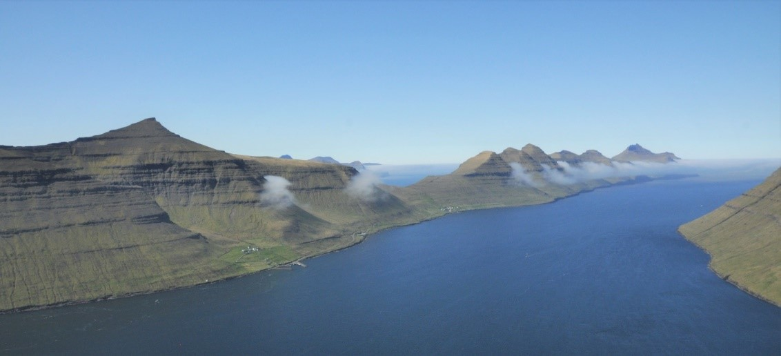 Kalsoy, one of the 18 Faroe Islands. Photo by Kam Sripada.