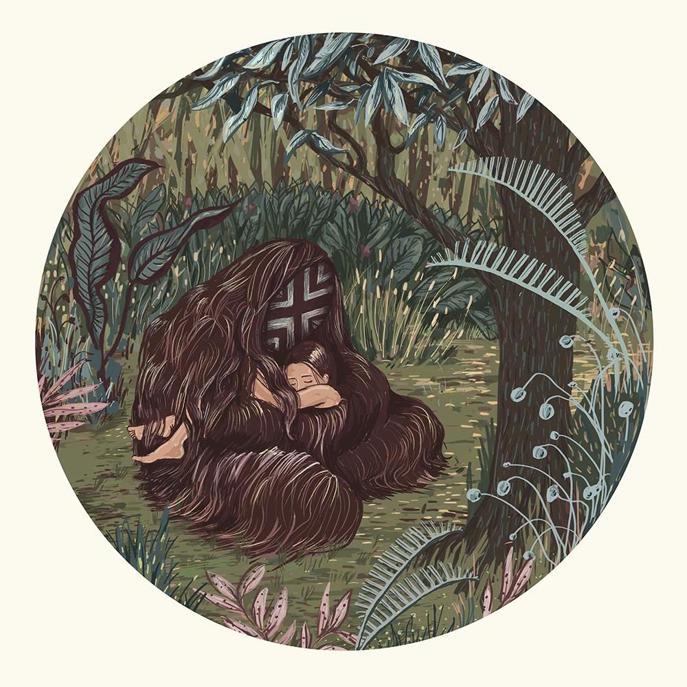 Fra utstillingen U;REDD. Illustrasjon ved Nina Eide Holtan og Marte Huke.